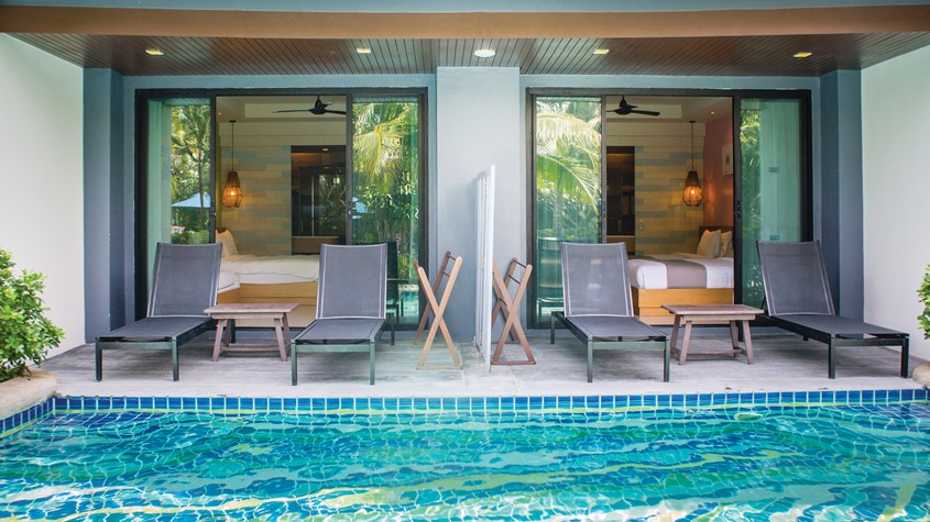 Krabi Resort Pool Access Room