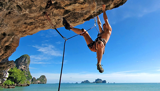 An Attractive Activity For Adventurers Who Love Climbing Railay Beach Is A Paradise Rock With Steep Cliffs And Jaw Dropping Scenery